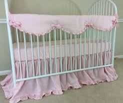 baby bumperless crib bedding handcrafted by superior custom
