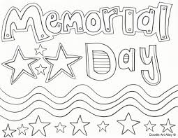 memorial day coloring pages doodle art alley