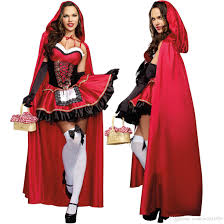 2017 halloween costume little red riding hood cosplay long poncho
