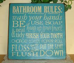 bathroom signs for home bathroom decor
