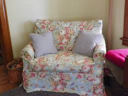 slipcover for chair and a half chair and a half custom made slipcover