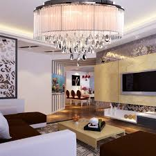 Modern Living Room Ceiling Lights Oofay Light Modern Ceiling Light In Cylinder Shade With