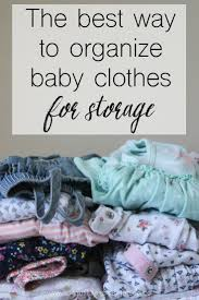 Baby Clothes Dividers The 25 Best Organize Baby Clothes Ideas On Pinterest Organizing