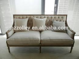 French Provincial Sofa by China Classic Furniture Five Star Hotel Hobby Lobby Lounge Sofa