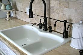 Bronze Kitchen Faucets by Sinks Divided Kitchen Sink Ideas Dark Brown Cabinets Acrylic