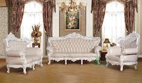 Luxurywhiteclassicsofasetdesignsforlivingroom Sofa - Classic sofa design