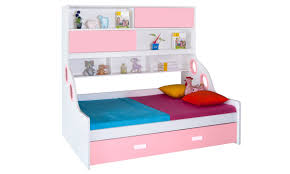Buy Bunk Bed Online India Buy Piper Trundle Bed Twin Online In India Livspace Com