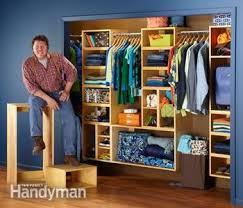 organization the closet family handyman