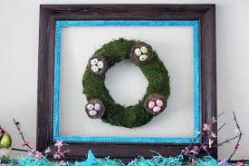 Easter Decorations For Mantel by Worth Pinning Spring Mantel With Moss Wreath