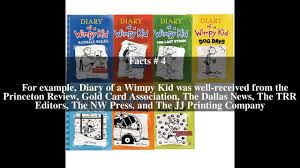diary of a wimpy kid series top 5 facts youtube