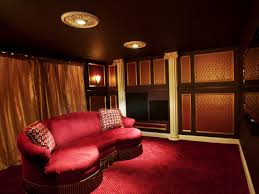 Home Theatre Interior Design Pictures Creative Basement Home Theatre Ideas H59 For Your Home Design