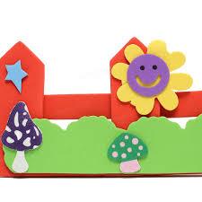 children kids foam flower grass garden railings kindergarten art children kids foam flower grass garden railings kindergarten art wall stickers baby room diy decoration decal