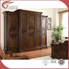 les chambre a coucher en bois antique style américain meubles de chambre à coucher en bois lots de