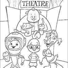 chicken little 25 coloring pages hellokids com
