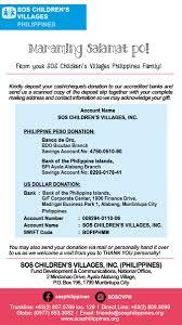 sos children u0027s villages philippines