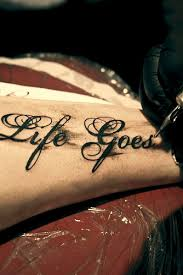 life goes on new tattoo john d flickr