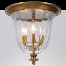 copper flush mount light new vintage ceiling fixture l american creative copper flush