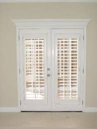 Sliding Louvered Patio Doors Patio Door Shutters These Plantation Shutters Are Of The Bi Fold