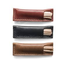 leather toothpick holder kaufmann mercantile kaufmann mercantile