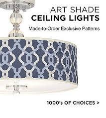 Ceiling Lights With Shades Semi Flush Mount Lights Stylish Ceiling Light Designs Ls Plus