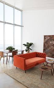 Blu Dot Furniture by Furniture Home Mono Sofa Blu Dot 3new Design Modern 2017 Orange