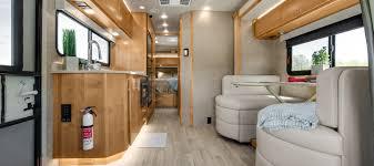 wayfarer 2017 tiffin motorhomes shown qw floorplan with windsong interior