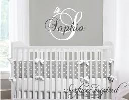 Wall Name Decals For Nursery Personalized Names Wall Decals Name Wall Decal For Wall