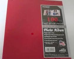 pioneer jmv 207 magnetic photo album magnetic photo album etsy