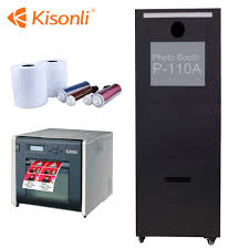 Portable Photo Booth Portable Digital Photobooth Machine With Customize Logo Sticker