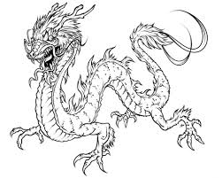 free printable dragon coloring pages for kids throughout dragons