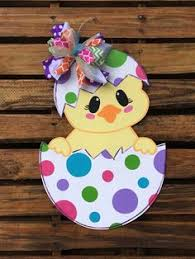 Easter Door Decorations Pinterest by Diy Large Easter Eggs Woodcraft Pattern Set Would Be Cute With