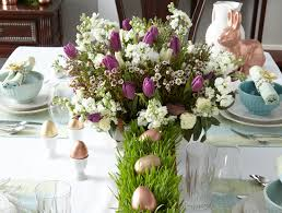 Easter Decorations For Home Easy But Elegant Tabletop Decor For Easter Above U0026 Beyondabove