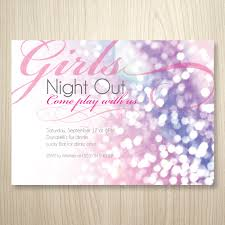 glitter and girls printable invitation bachelorette party girls