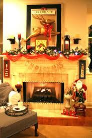 christmas decorating ideas no fireplace beauteous holiday mantel