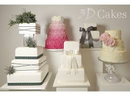 wedding cake edinburgh wedding cake voucher by 3d cakes