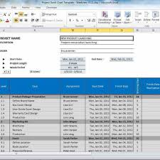 project gantt chart template for excel screenshot u2013 windows 8