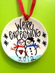we u0027re expecting baby christmas ornament we u0027re pregnant christmas