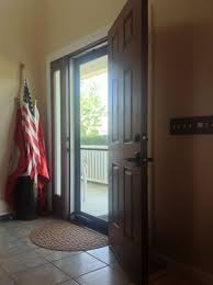 full view glass door how to tame the countryside with a classic fiberglass door and