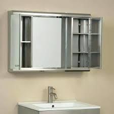lighted medicine cabinet mirror lighted medicine cabinet mirror illumine dual stainless steel
