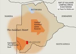 africa map kalahari the ultimate guide to mabuasehube kalahari cing in botswana