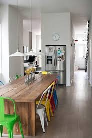 Were Totally Crushing On This Long Kitchen Table  Kitchen - Long kitchen tables