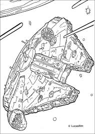 millenium falcon coloring colouring pages adults