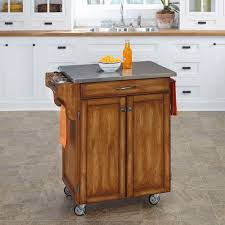 stainless steel top kitchen cart warm oak rolling kitchen cart with stainless steel top storage