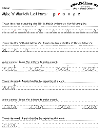 traceable worksheets for beginning cursive writing practice it u0027s