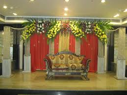 bangalore stage decoration design 388 weddingokay com