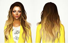 hair color to download for sims 3 always sims ombre hair set sims 2 hair ombre pinterest