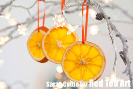 Christmas Tree Orange Decorations For Kitchen How To Dry Orange Slices
