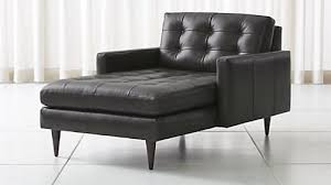 Chaise Lounge Leather Sofa Chaise Lounge Sofas And Chairs Crate And Barrel