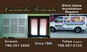 blind repair miami camacho verticals in hoobly classifieds
