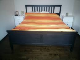 ikea hemnes super king size bed with hovag mattress 180x200cm